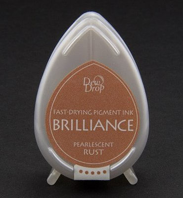 BD-61 - Brilliance Ink - Dew Drop - Pearlescent Rust