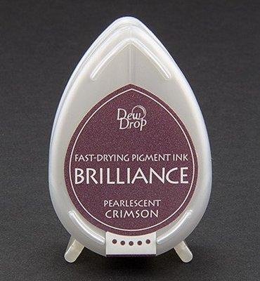 BD-62 - Brilliance Ink - Dew Drop - Pearlescent Crimson