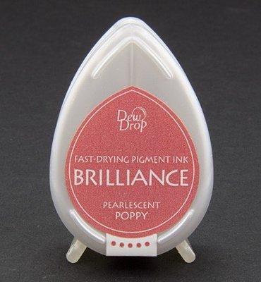 BD-63 - Brilliance Ink - Dew Drop - Pearlescent Poppy