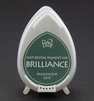BD-64 - Brilliance Ink - Dew Drop - Pearlescent Ivy