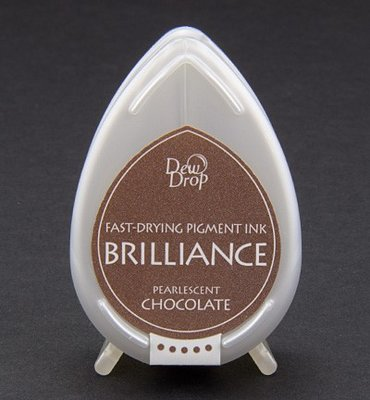 BD-76 - Brilliance Ink - Dew Drop - Pearlescent Chocolate