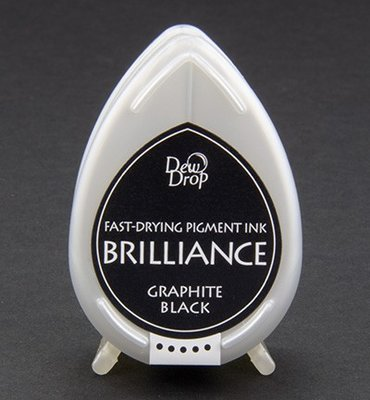 BD-82 - Brilliance Ink - Dew Drop - Graphite Black
