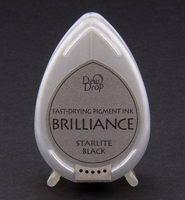 BD-90 - Brilliance Ink - Dew Drop - Starlite Black