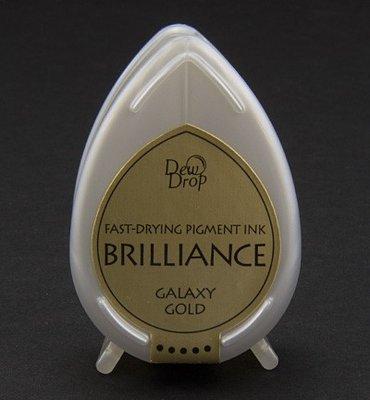 BD-91 - Brilliance Ink - Dew Drop - Galaxy Gold