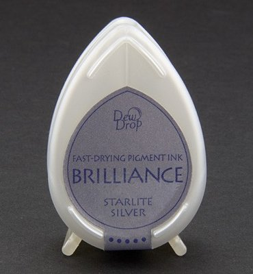 BD-93 - Brilliance Ink - Dew Drop - Starlite Silver