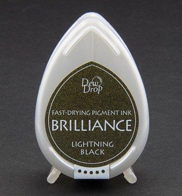 BD-95 - Brilliance Ink - Dew Drop - Lightning Black