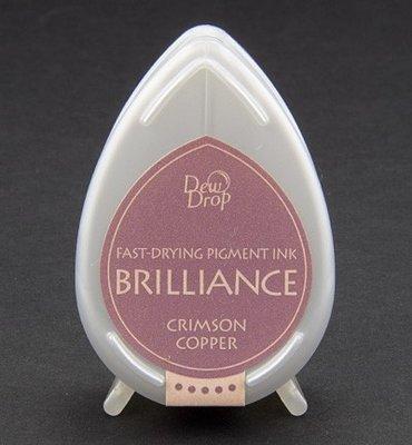 BD-97 - Brilliance Ink - Dew Drop - Crimson Copper