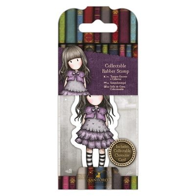 Collectable Rubber Stamp - Santoro - No. 32 Little Violet