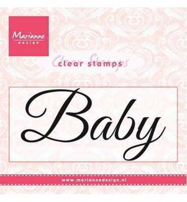 CS0958 Marianne Design - Clear Stamp - Baby