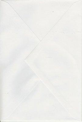 Enveloppen 12,5 x12,5 25 stuks Wit (90gr.)