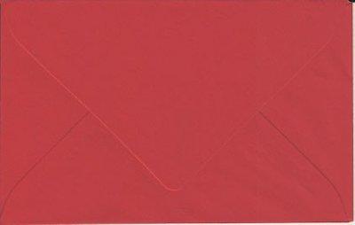 Enveloppen 90x140 20 stuks Rood (90gr.)