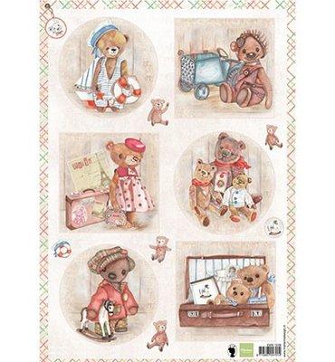 EWK1249 - Marianne Design - Knipvel - Teddy Bears 1