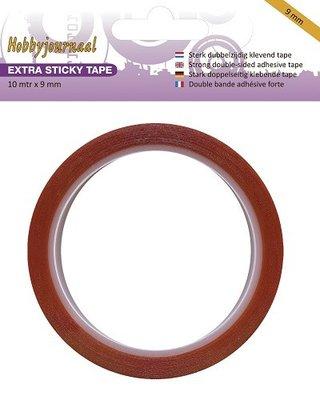 HJSTICKY09 Hobbyjournaal - Extra Sticky Tape - 9 mm