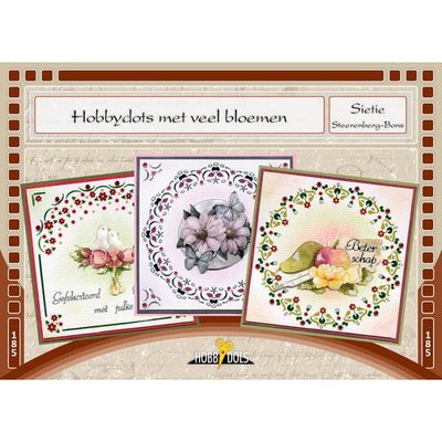 Hobbydols 185 - Hobbydots met veel bloemen