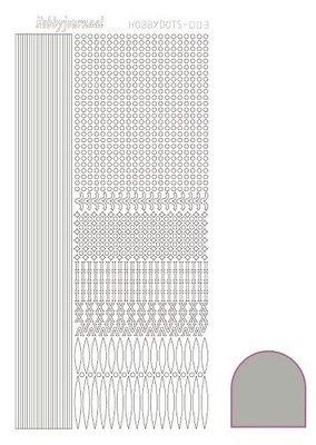 Hobbydots stickers serie 03 compleet (22 stickervellen)