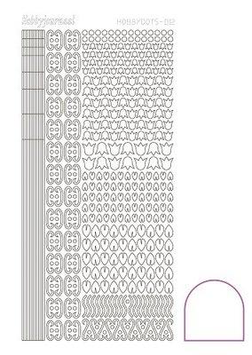 Hobbydots stickers serie 12 compleet (22 stickervellen)