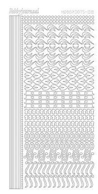 Hobbydots stickers serie 18 compleet (22 stickervellen)
