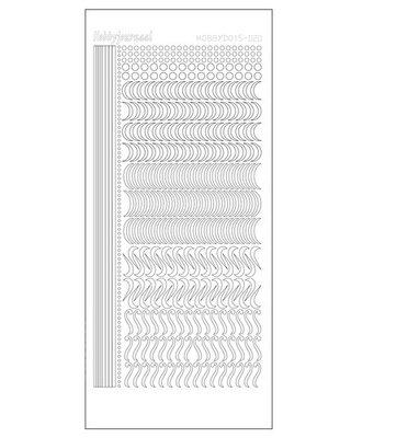 Hobbydots stickers serie 20 compleet (22 stickervellen)
