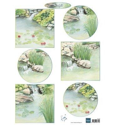 IT594 - Marianne Design - Knipvel - Tiny's Waterfalls