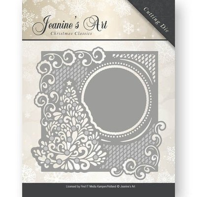 JAD10005 - Die - Jeaninnes Art - Christmas Classics - Christmas tree frame