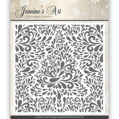 JAEMB10002 - Embossing Folder - Jeaninnes Art - Christmas Classics