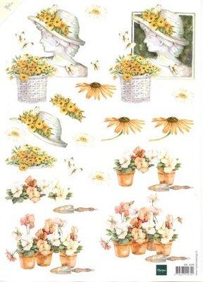 Knipvellenpakket Marianne design - Bloemen 6 verschillende knipvellen