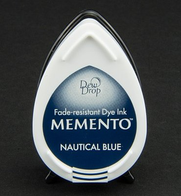 MD-607 - Memento klein - InkPad-Nautical Blue