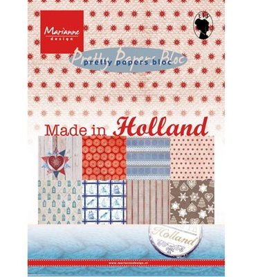 PK9126 Marianne Design - Pretty Papers - Made in Holland - A5 - 4x8 designs