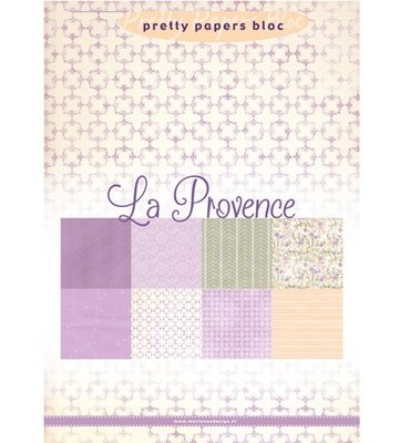PK9132 Marianne Design - Pretty Papers - La Provence - A5