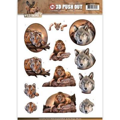 SB10160 - Pushout - Amy Design - Wild Animals