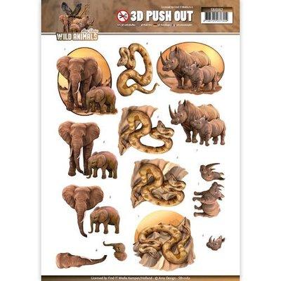 SB10162 - Pushout - Amy Design - Wild Animals