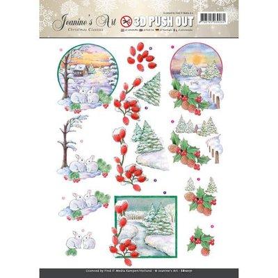 SB10171 - Pushout - Jeaninnes Art - Christmas Classics