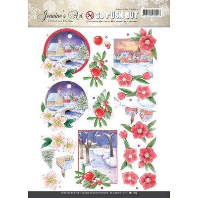 SB10173 - Pushout - Jeaninnes Art - Christmas Classics