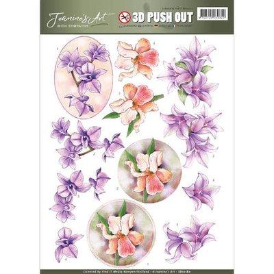 SB10180 - Pushout - Jeanine's Art - With Sympathy - Sympathy Flowers