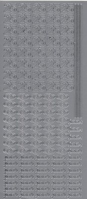 Stickervel 0077 VBK Huwelijk 25-jarig