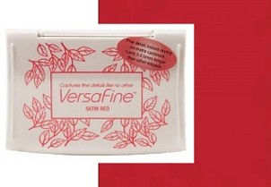 VF-10 Inkpad Versafine Satin red