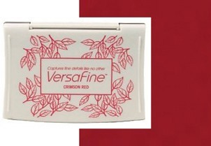 VF-11 Inkpad Versafine Crimson red