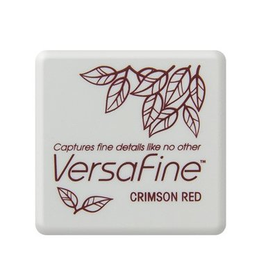 VF-SML-011 Inkpad Versafine klein Crimson Red