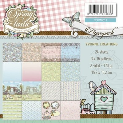 YCPP10011 Paperpack - Yvonne Creations - Spring-tastic