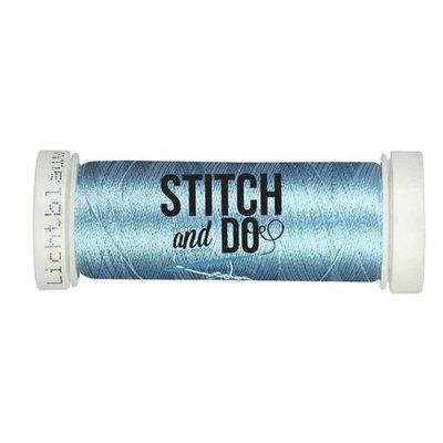 Stitch & Do 200 m - Borduurgaren - Linnen – Lichtblauw