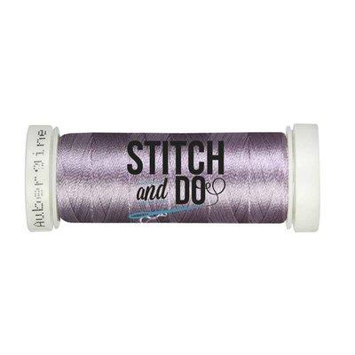 Stitch & Do 200 m - Borduurgaren - Linnen – Aubergine