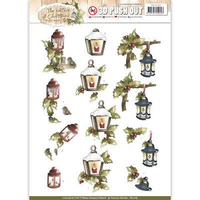 SB10185 - Pushout - Precious Marieke - The Nature of Christmas - Christmas Lantern