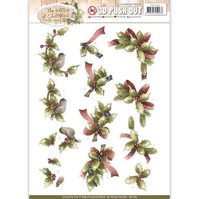 SB10184 - Pushout - Precious Marieke - The Nature of Christmas - Christmas Holly