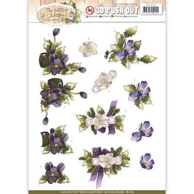 SB10183 - Pushout - Precious Marieke - The Nature of Christmas - Christmas Flowers