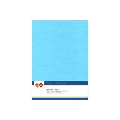 29 Card Deco Linnen A5 10 vel Hemelsblauw 240grm