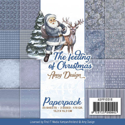 ADPP10018 Paperpack - Amy Design - The feeling of Christmas