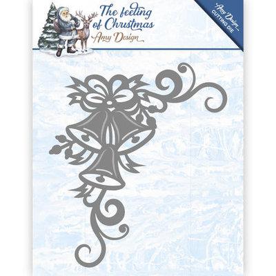 ADD10114 Die - Amy Design - The feeling of Christmas - Christmas bells corner