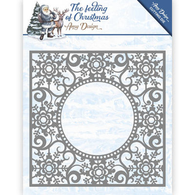 ADD10109 Die - Amy Design - The Feeling of Christmas - Ice crystal frame