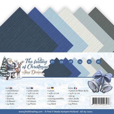 AD-A5-10012 Linnenpakket - A5 - Amy Design - The feeling of Christmas