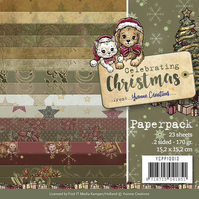 YCPP10013 Paperpack - Yvonne Creations - Celebrating Christmas